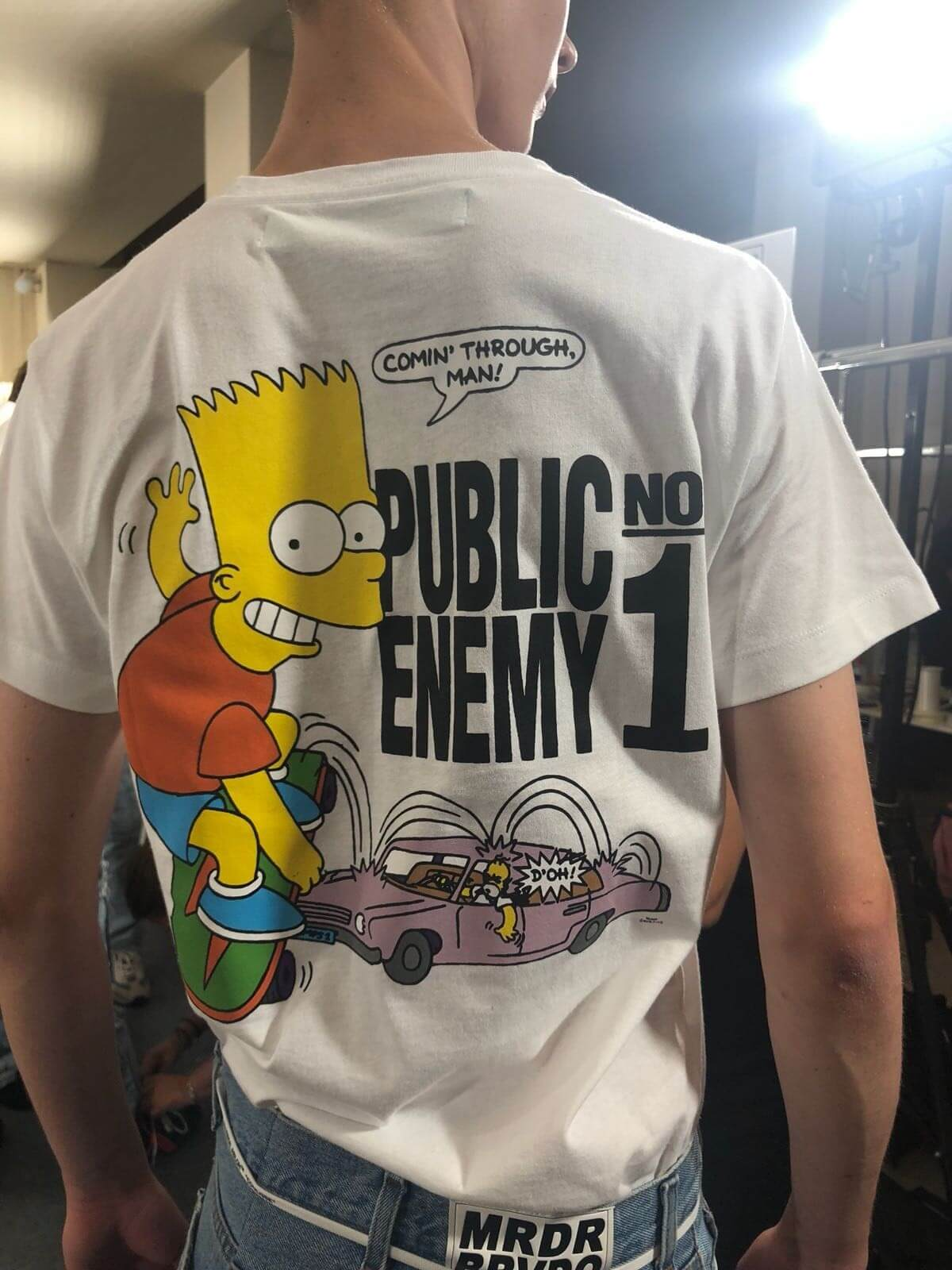 OFF-WHITE S/S 2019: Bart Simpson se convierte en el fashion icon de Virgil Abloh