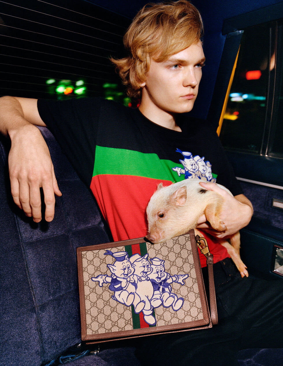 Gucci Chinese New Year Collection 2019. Fotografía: Frank Lebon x Gucci